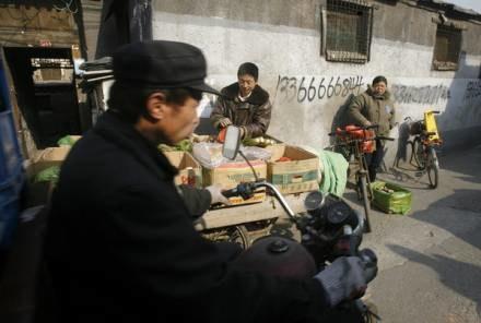 Pekiński hutong - tradycyjna chińska dzielnica, którą charakteryzuje niska, gęsta zabudowa /AFP