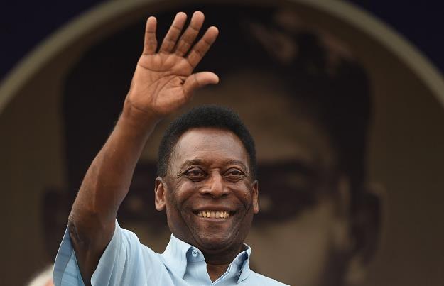Pele, piłkarska gwiazda wszech czasów /AFP