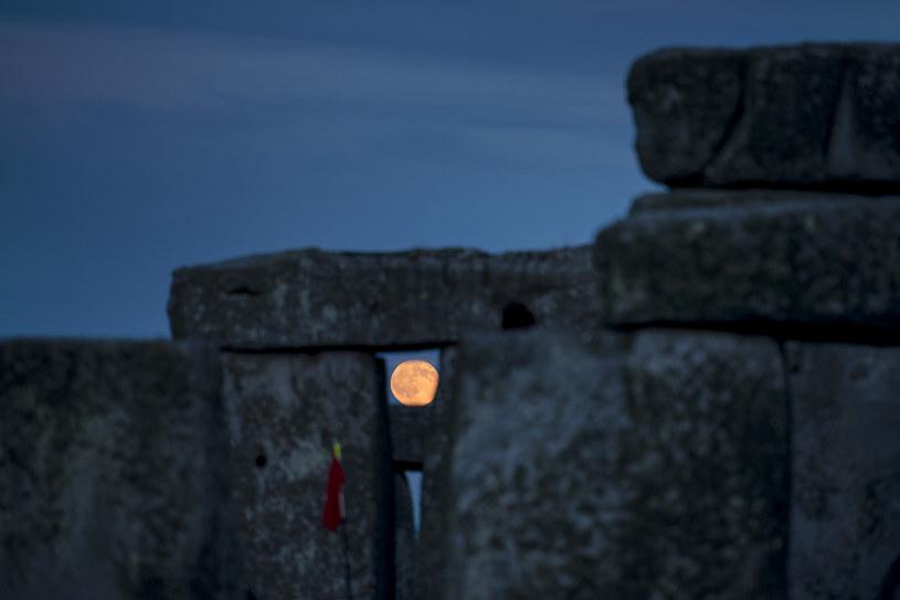 Pełnia Truskawkowego Księżyca /Mark Hemsworth /Agencja FORUM