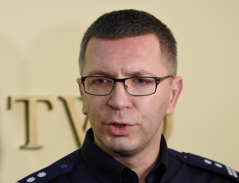 Pełniący obowiązki Komendanta Głównego Policji mł. insp. Andrzej Szymczyk /Radek Piertruszka /PAP