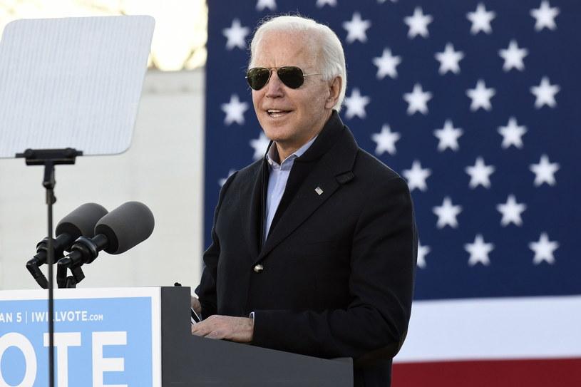Pełnię władzy w Waszyngtonie Partia Demokratyczna może wykorzystać do zwiększania wydatków rządowych (nz. Joe Biden, prezydent USA) /EPA