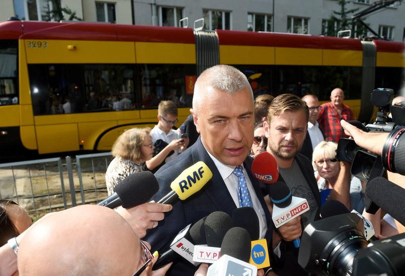 Pełnomocnik Donalda Tuska Roman Giertych /Radek Pietruszka /PAP