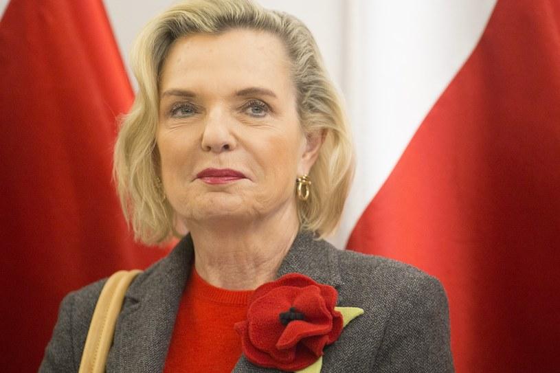 Pełnomocnik prezesa Rady Ministrów ds. dialogu międzynarodowego senator Anna Maria Anders /Maciej Łuczniewski /Reporter