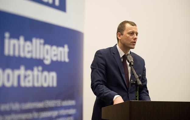Pełnomocnik rządu ds. budowy Centralnego Portu Komunikacyjnego Mikołaj Wild /PAP