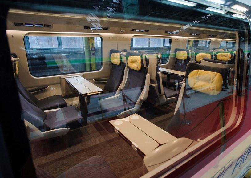 Pendolino po raz pierwszy zabierze pasażerów 14 grudnia /Rafal Oleksiewicz/REPORTER /East News