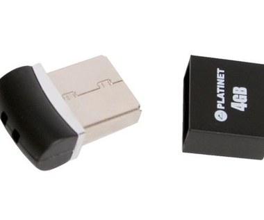 Pendrive wielkości wtyczki USB