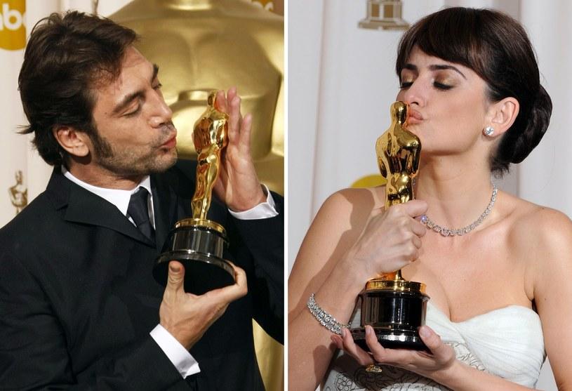 Penélope Cruz i Javier Bardem - oboje są lauratami Oscara /AFP