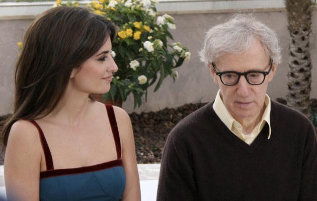 Penelope Cruz i Woody Allen  /Splashnews