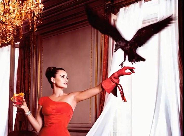 Penelope Cruz w zmysłowej sesji do kalendarza Campari 2013 /YouTube