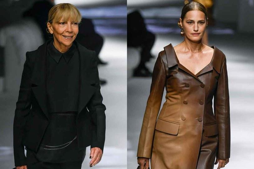 Penelope Tree i  Yasmin Le Bon na pokazie Fendi /Getty Images