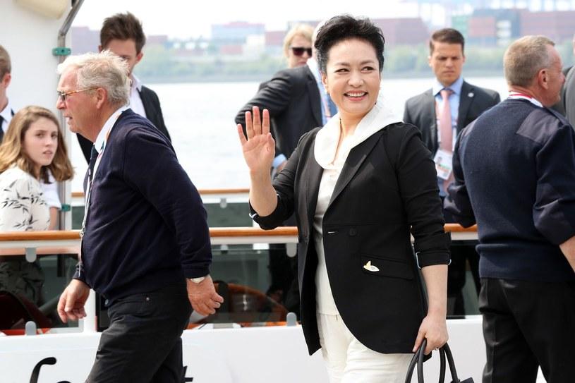 Peng Liyan - żona Xi Jinpinga /AFP