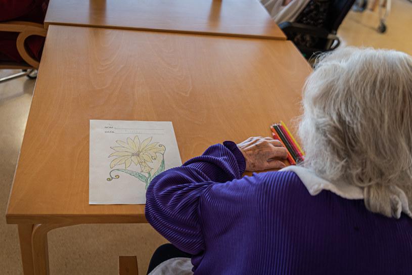 Pensjonariuszka domu opieki; zdj. ilustracyjne /Adrià Salido Zarco/NurPhoto via Getty Images /Getty Images