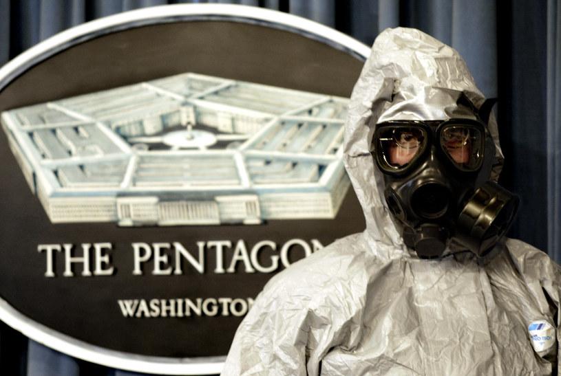 Pentagon: Asad może przygotowywać atak chemiczny /PAUL J. RICHARDS /AFP