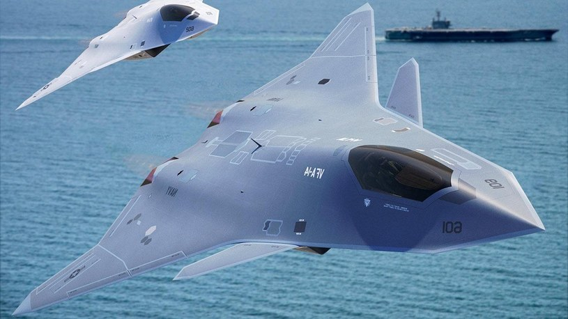 """Pentagon przetestował w locie demonstrator następcy F-35. """"Pobił wszelkie rekordy"""" /Geekweek"""