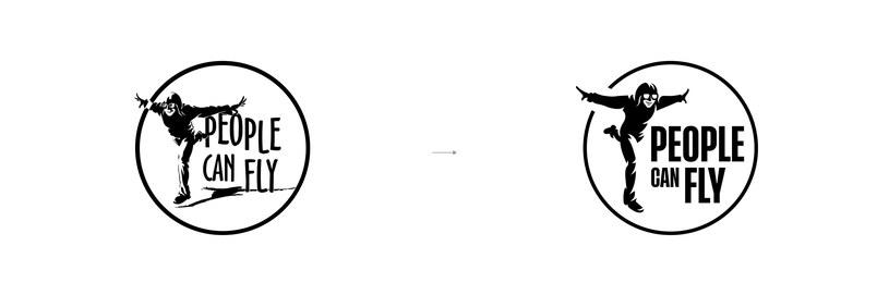 People Can Fly - nowe logo /materiały prasowe