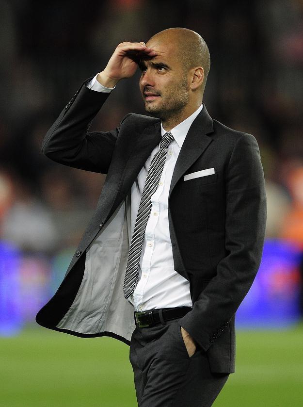 Pep Guardiola darzy dużym szacunkiem Alexa Fergusona. /AFP