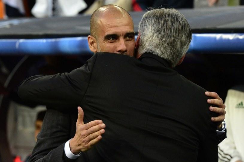 Pep Guardiola i Carlo Ancelotti /AFP