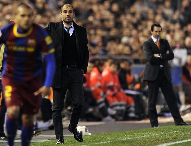 Pep Guardiola i jego drużyna nie byli w Valencii w najwyższej formie. Mimo to wygrali /AFP
