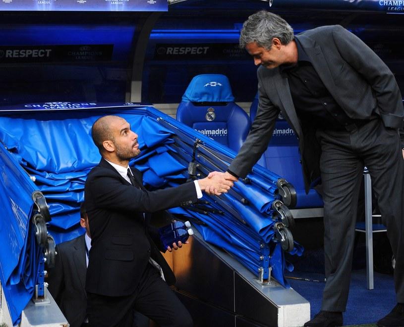 Pep Guardiola i Jose Mourinho /AFP