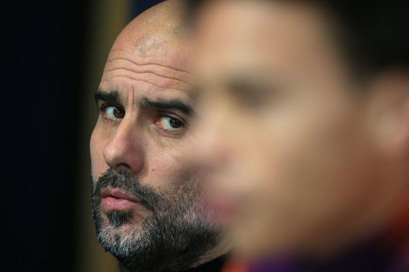 Pep Guardiola nie stawia ostatnio na Leroya Sane /AFP