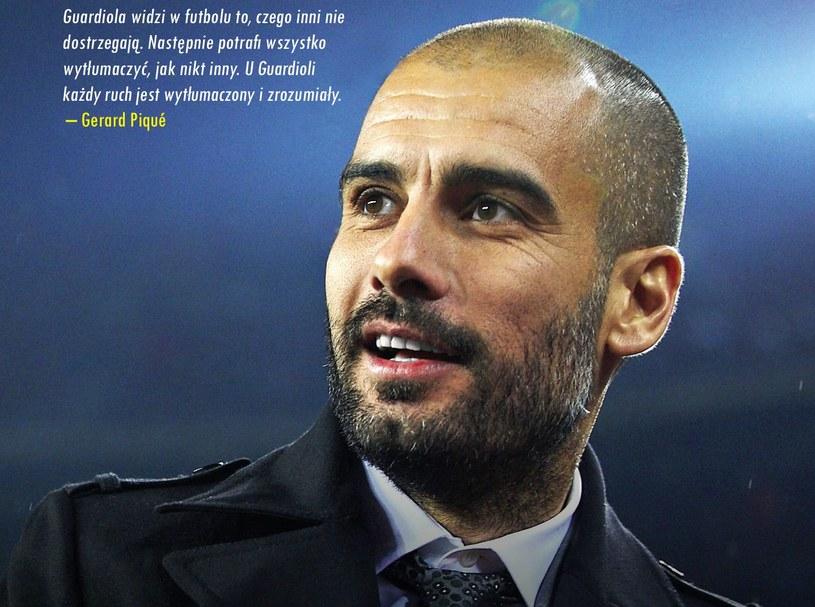 Pep Guardiola oczami innych - ciekawa lektura dla wszystkich fanów futbolu /SQN /materiały prasowe