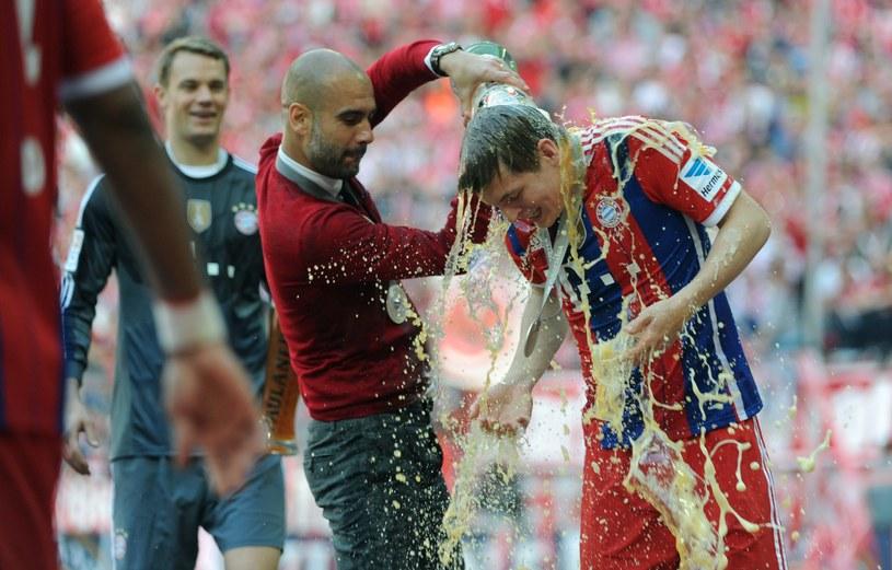 Pep Guardiola topi w piwie Toniego Kroosa /AFP