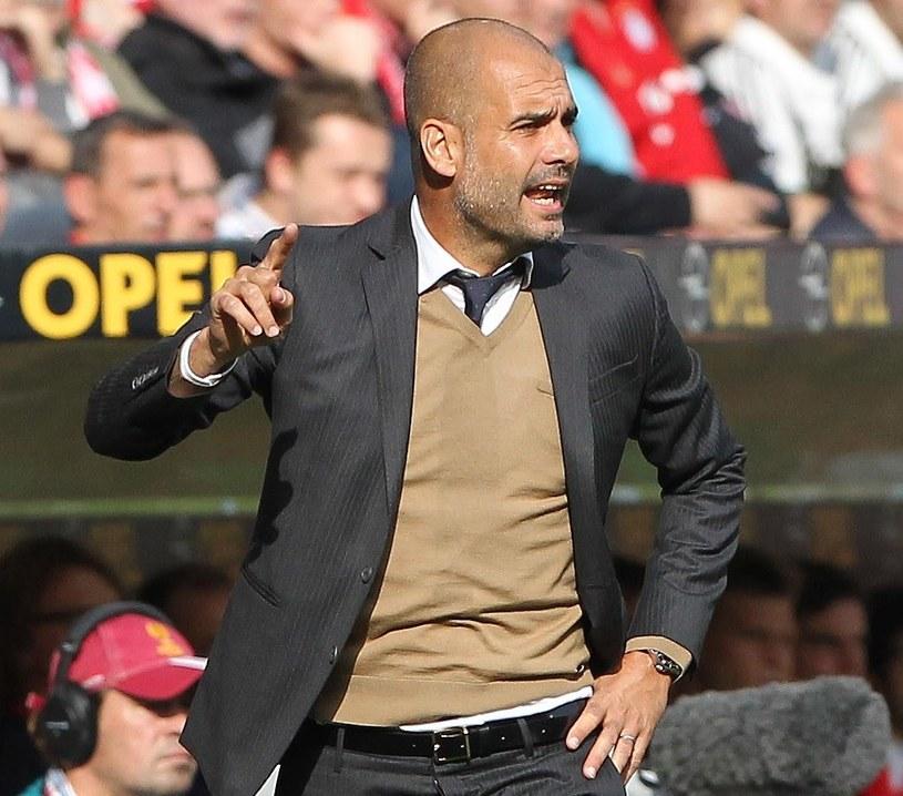Pep Guardiola, trener Bayernu Monachium /AFP