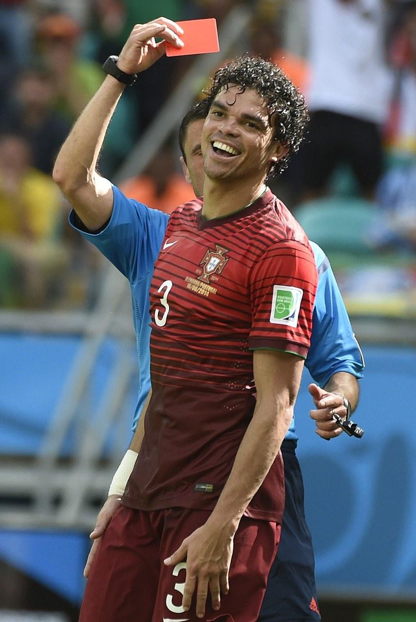 Pepe osłabił swój zespół nieodpowiedzialnym zachowaniem /AFP