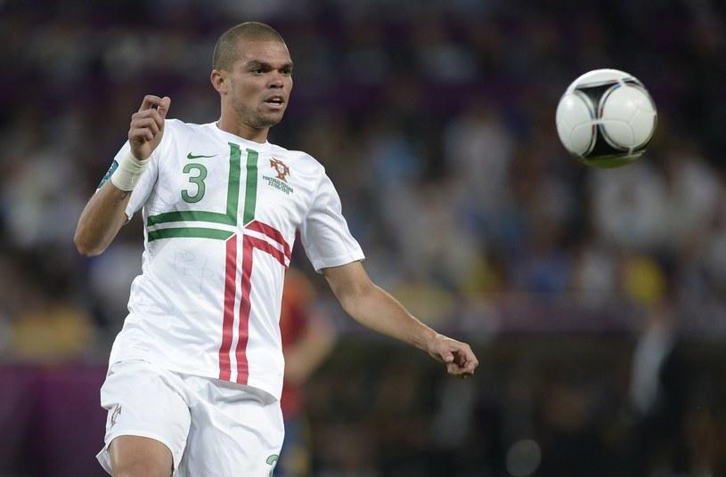 Pepe skręcił lewą kostkę /AFP