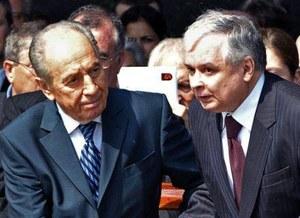 Peres: Polska i Izrael są sobie bliskie politycznie
