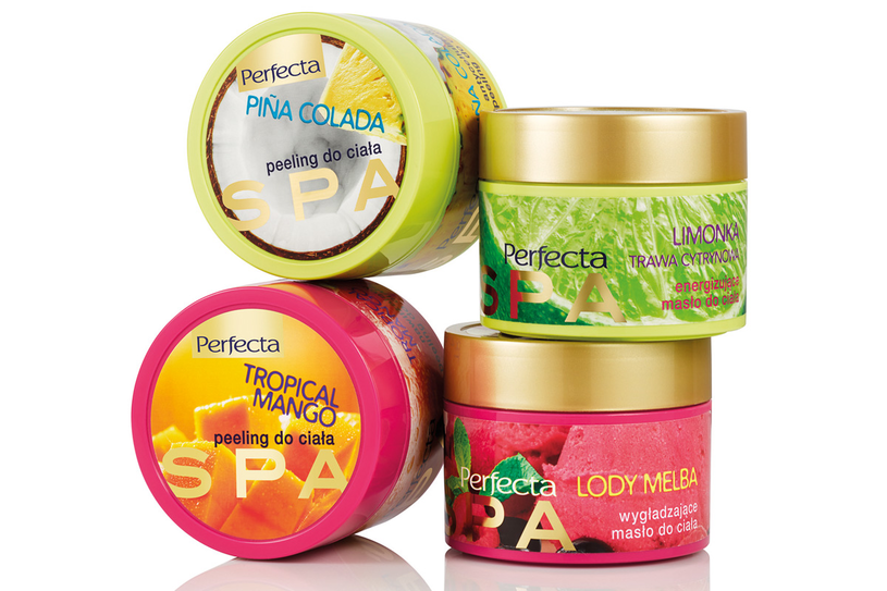   PERFECTA Spa to kosmetyczne smakołyki do pielęgnacji ciała. /materiały prasowe