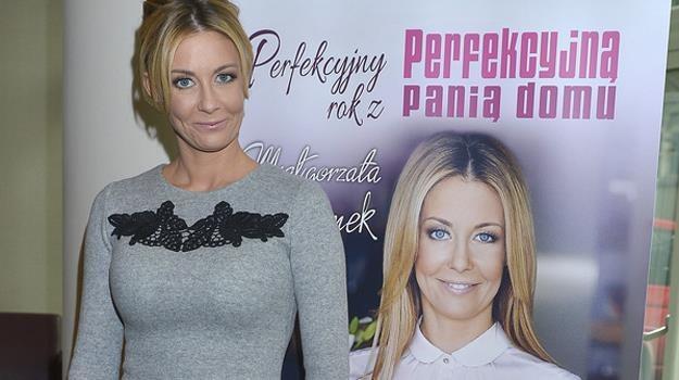 Perfekcyjna razy dwa? Małgorzata Rozenek promuje swoją nową książkę / fot. Gałązka /AKPA