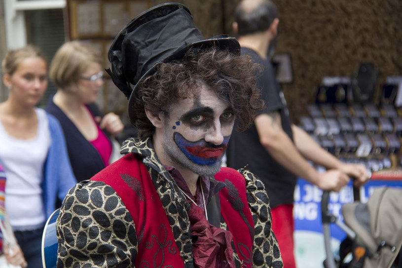 Performer na Edinburgh Fringe Festival, największym światowym festiwalu sztuki /123RF/PICSEL