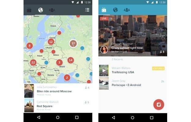 Periscope - aplikacja, która dokonała przewrotu kopernikańskiego w świecie mediów /materiały prasowe