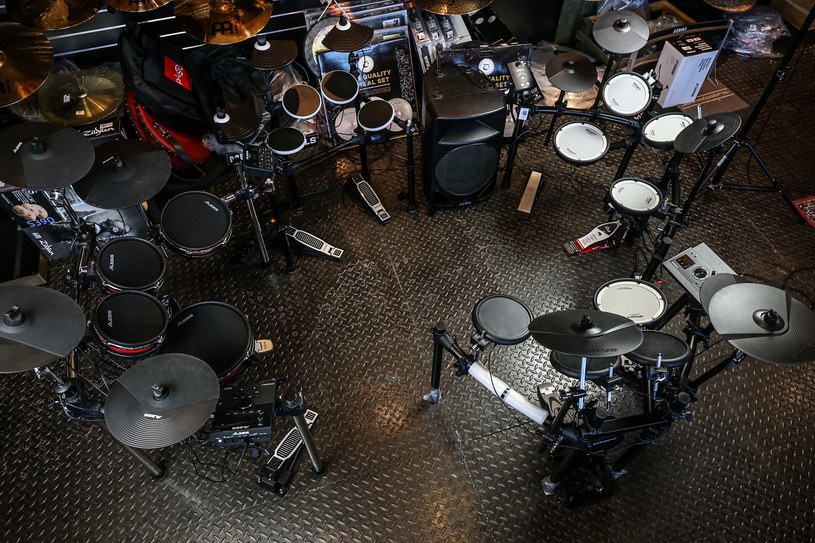 Perkusja elektroniczna to instrument, który zadowoli zarówno początkujących, jak i zaawansowanych. /materiały prasowe