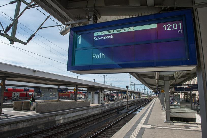 Peron na dworcu Nürnberg Hauptbahnhof /JOERG KOCH /Getty Images