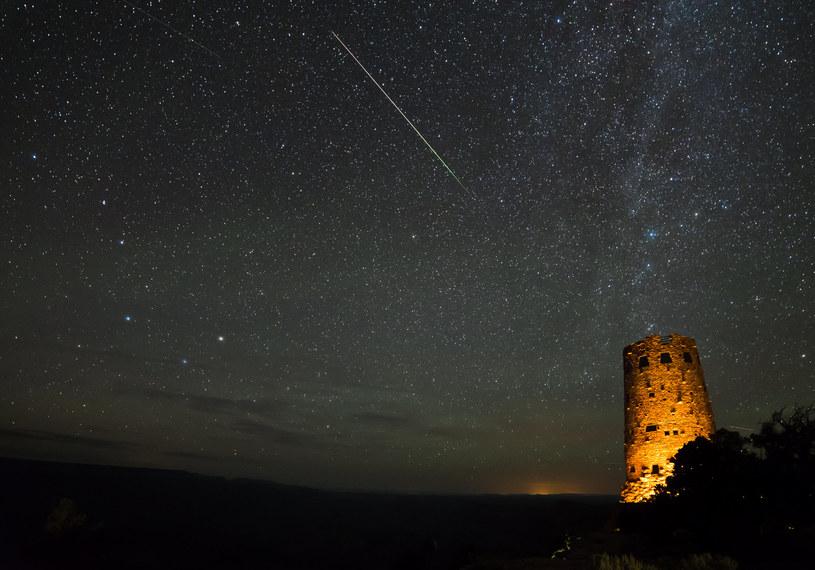 Perseidy na niebie, Kolorado. (Zdjęcie ilustracyjne) /123RF/PICSEL