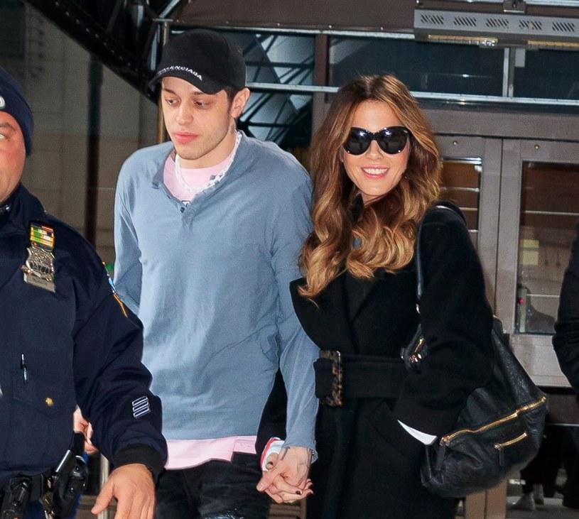 Pete Davidson i Kate Beckinsale, fot. Jackson Lee / SplashNews.com /East News