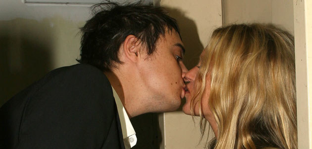 Pete Doherty i Kate Moss, fot. Scott Wintrow  /Getty Images/Flash Press Media