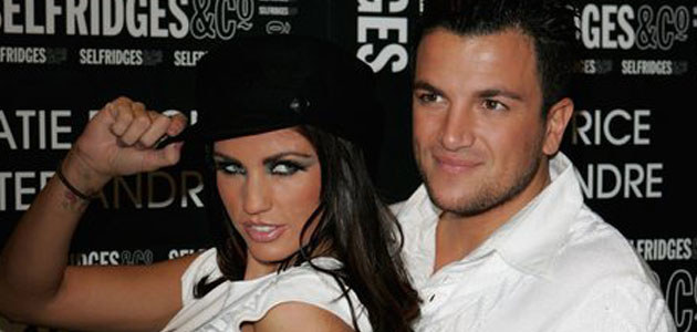 Peter Andre i Katie Price (Jordan), fot. MJ Kim   /Getty Images/Flash Press Media
