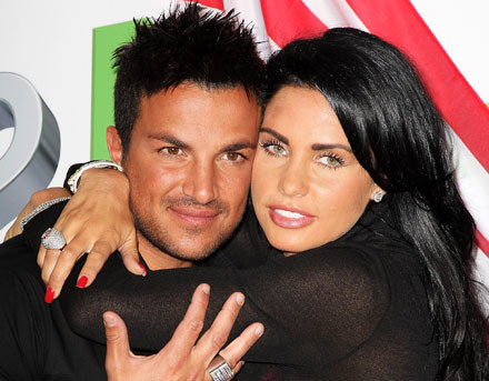 Peter Andre jeszcze z Katie Price fot. Dave Hogan /Getty Images/Flash Press Media