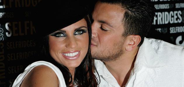 Peter Andre z żoną Katie Price, fot. MJ Kim  /Getty Images/Flash Press Media