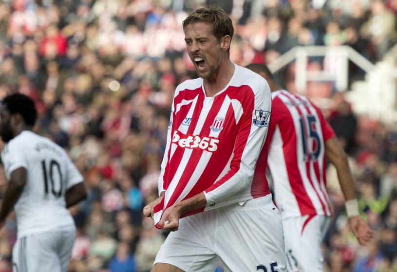 Peter Crouch /AFP
