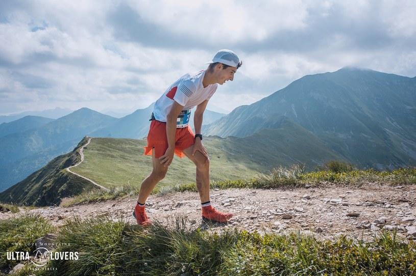 Peter Frano - zwycięzca Tatra SkyMarathonu/ Fot. UltraLovers /Jacek Deneka /