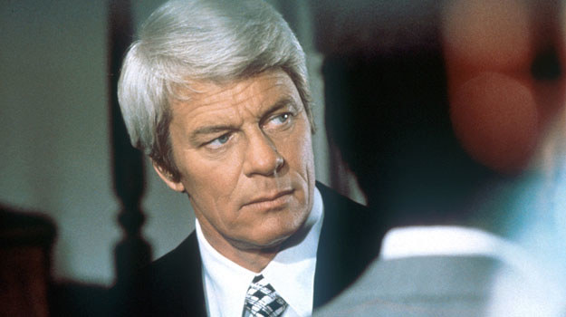 "Peter Graves w serialu ""Mission Impossible"" /AKPA"