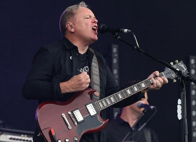 Peter Hook z New Order na scenie - fot. Danny Martindale /Getty Images