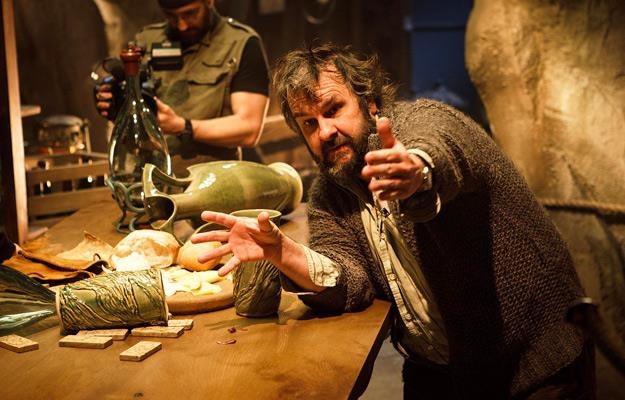 "Peter Jackson na planie filmu ""Hobbit: Pustkowie Smauga"" /The New York Times"