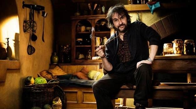 """Peter Jackson w świecie Tolkiena.. Teraz przeniosą się tam widzowie """"Hobbita"""". /Getty Images/Flash Press Media"""