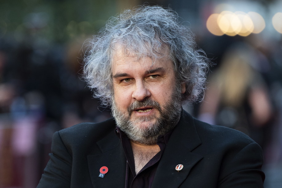 Peter Jackson /WILL OLIVER  /PAP/EPA