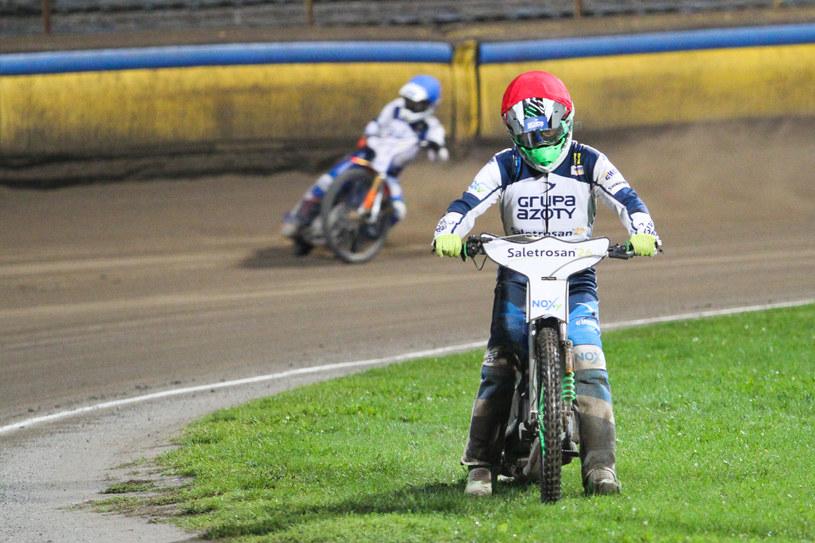 Peter Ljung na murawie tarnowskiego stadionu /Sebastian Maciejko /Newspix